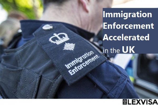 Immigration Enforcement Accelerated in the UK lexvisa