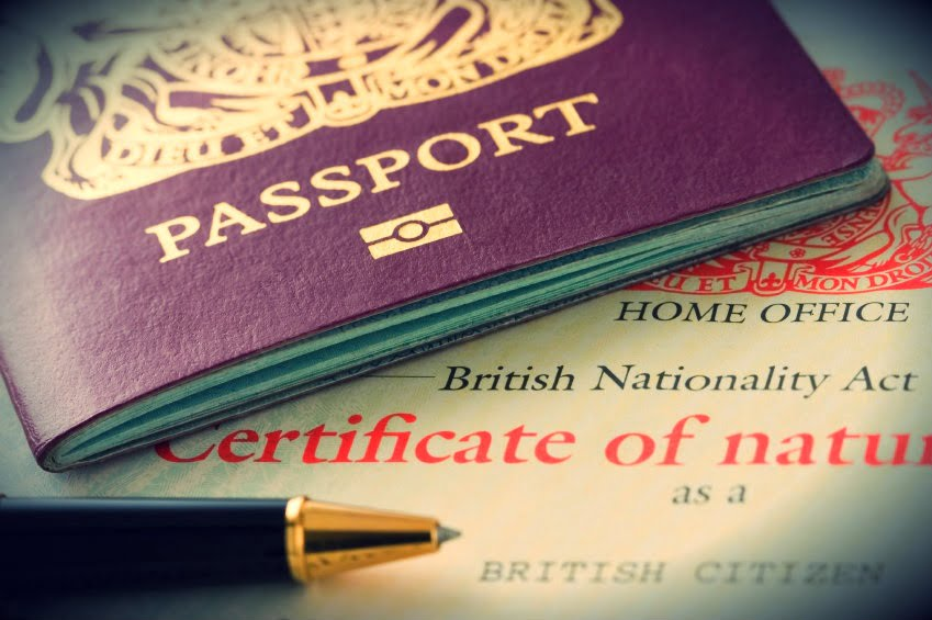 British Nationality Application