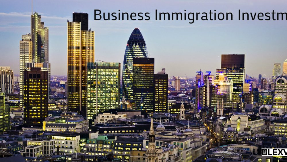 Business Immigration Investment