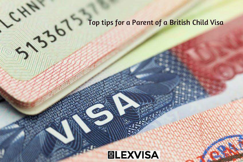 Parent of a British Child Visa