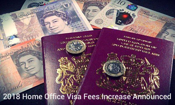 Home Office Visa Fees