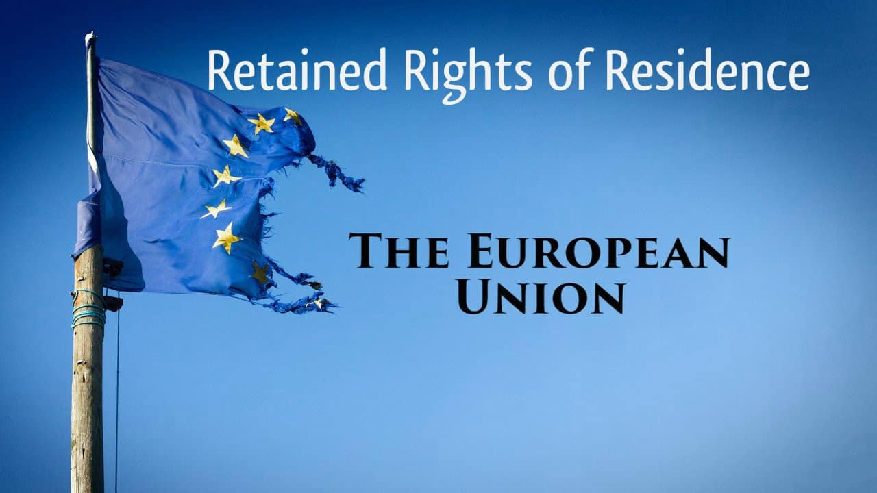 Retained Rights of Residence