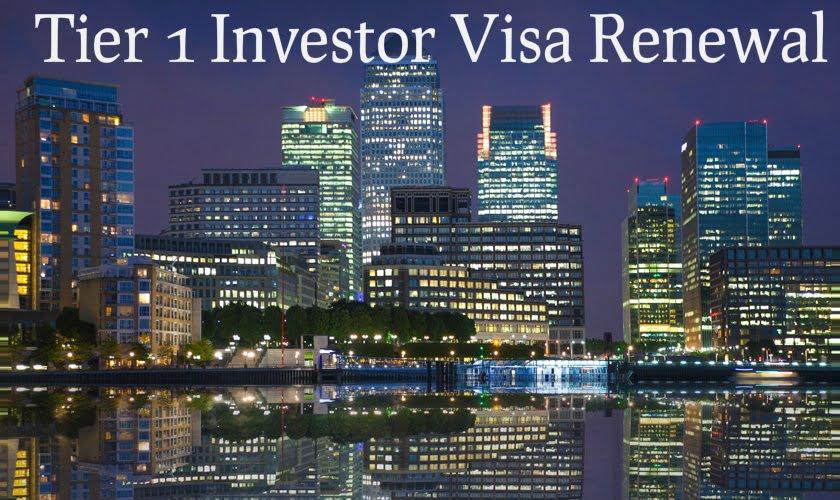 Tier 1 Investor Visa Renewal