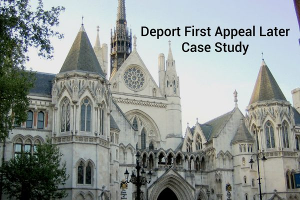 Deport First Appeal Later