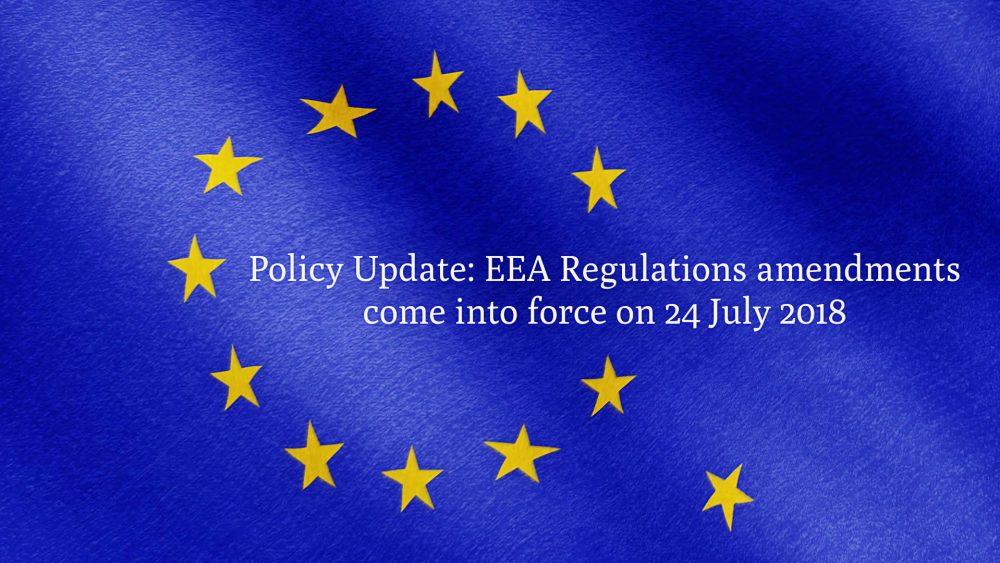 EEA Regulations