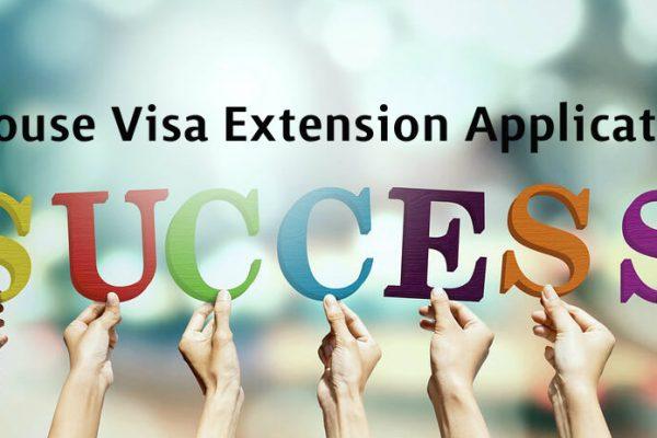 Spouse Visa Extension Application