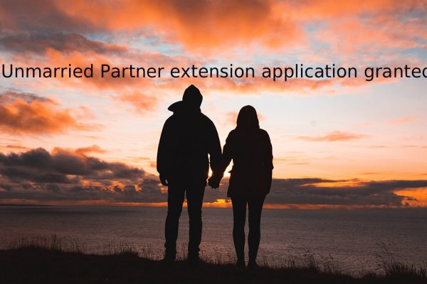 UK Visa Success Story: Unmarried Partner extension application granted