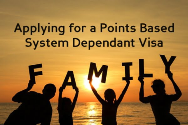 Applying for a Points Based System Dependant Visa