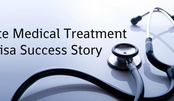 Private Medical Treatment Visa Success Story
