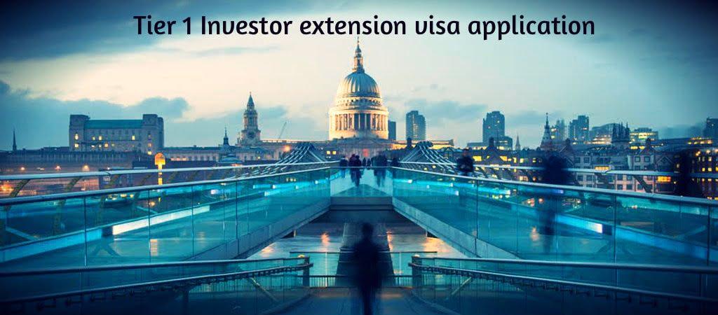 Tier 1 Investor extension visa