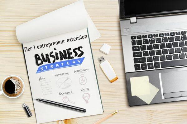 Tier 1 entrepreneur extension