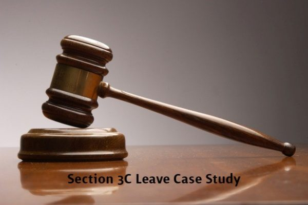 Section 3C Leave Case Study