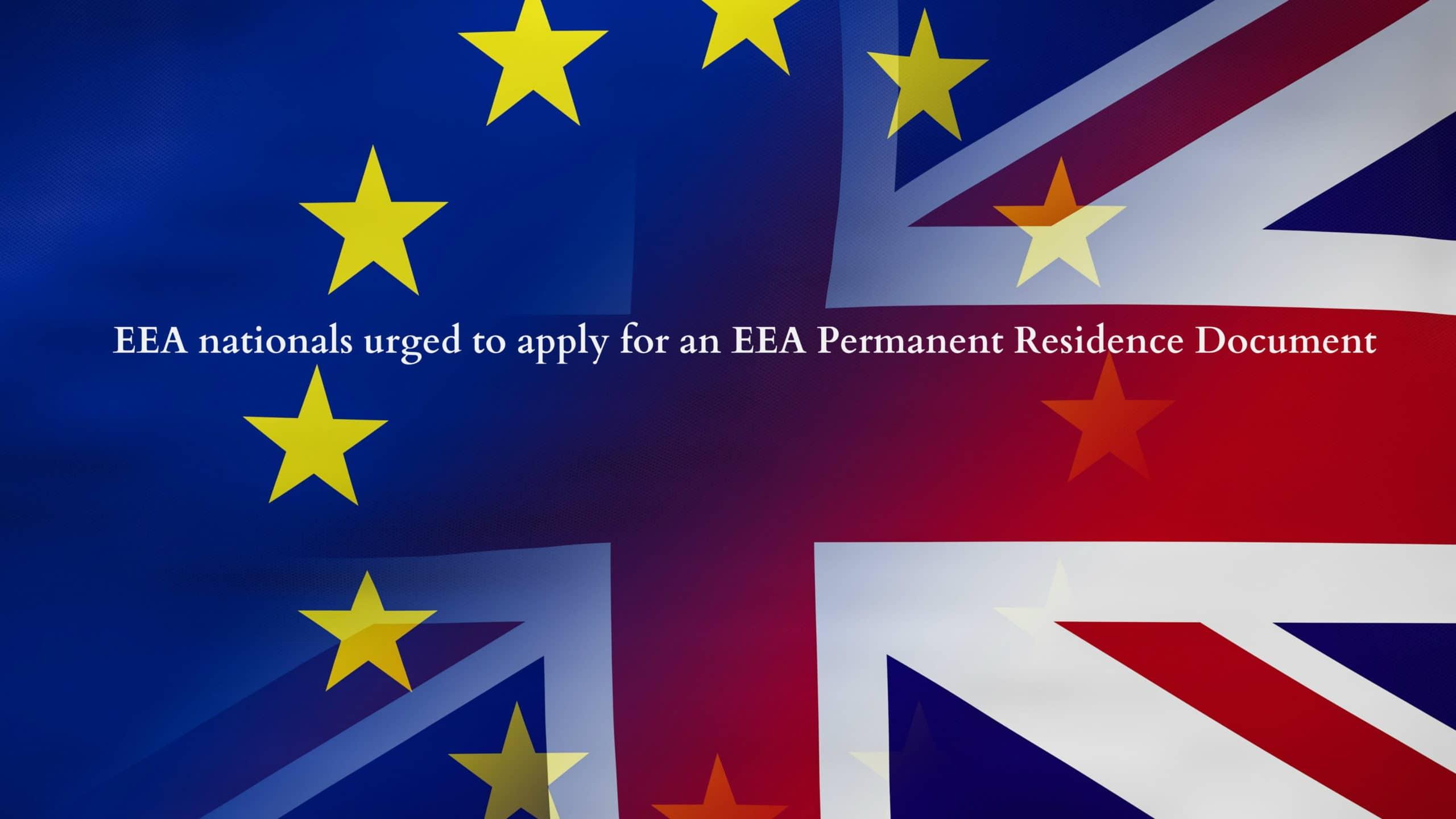 EEA Permanent Residence Document