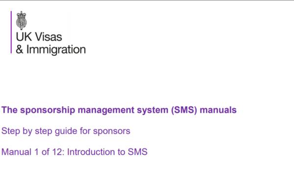 SMS Sponsorship Management System Tier 2 Tier 5 Tier 4 sponsor licence