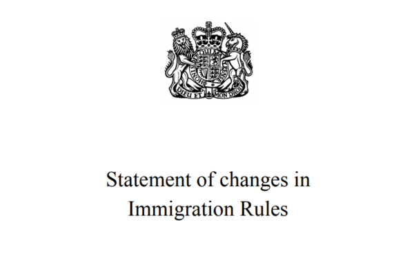 Statement of Changes in Immigration Rules Appendix W EU Settlement Scheme